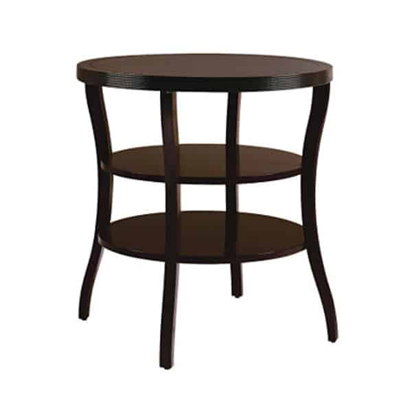 Baker Coffee Table Round: Baker Round Tiered End Table By Barbara Barry